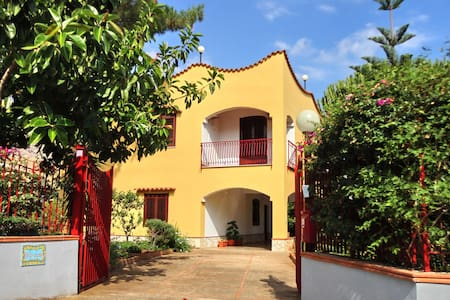 Appartamento in villa con giardino - Trabia