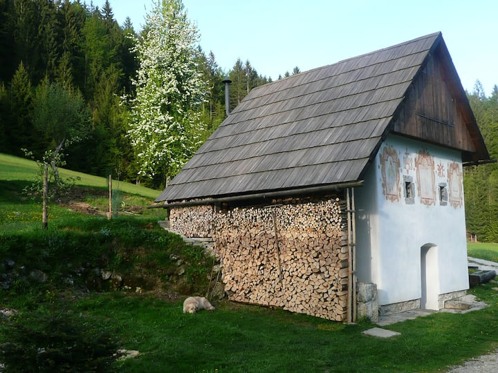 Heritage cabin house for 2 - Klavžar House