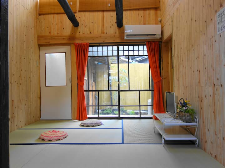 8 min.from KYOTO STATION,2-story house+5bikes