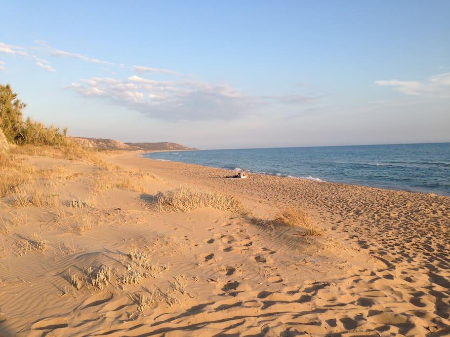 spiaggia eraclea minoa/bovo marina