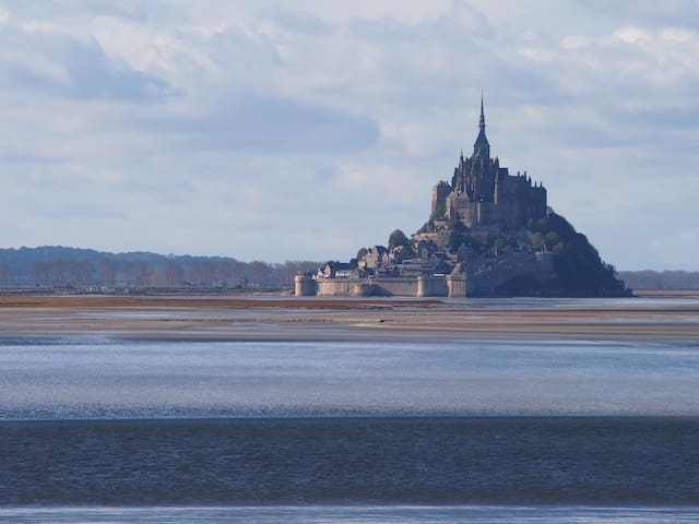Baie du Mont Saint Michel - Marcey-les-Grèves - House