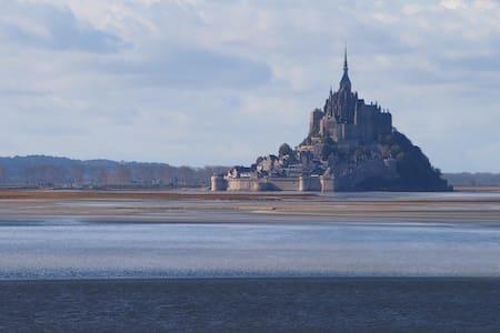 Baie du Mont Saint Michel - Marcey-les-Grèves