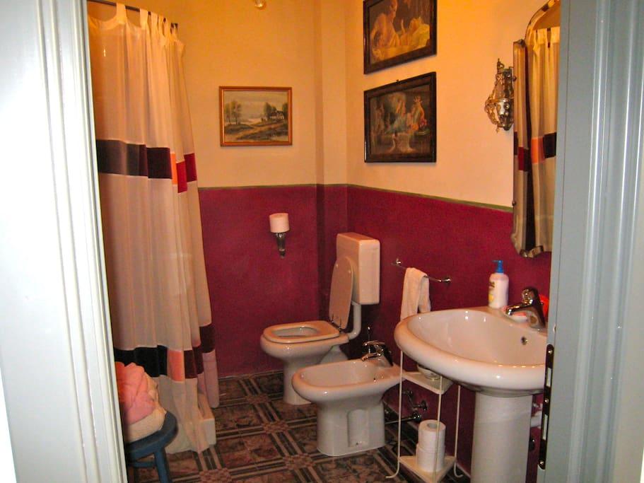 la camera Bianca - bagno