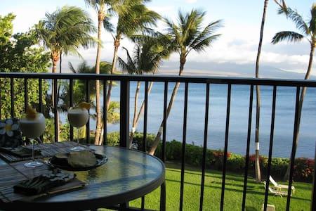 Romantic Maui Oceanfront Condo - Maalaea