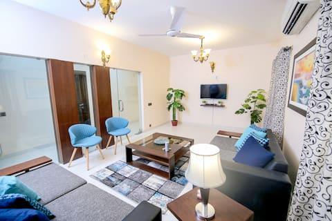 Entire Home-Furnished 3Bedroom APT-3 TALWARCLIFTON