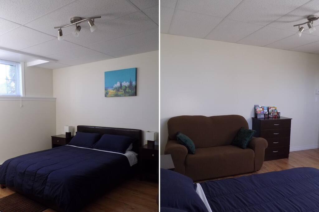 Confortable chambre qu bec maisons louer qu bec for Chambre quebec