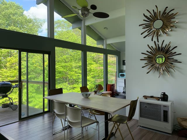 Stunning Modernist Catskills Home w/ private Pool
