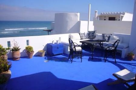 Charming house facing the Ocean - Asilah - Huis