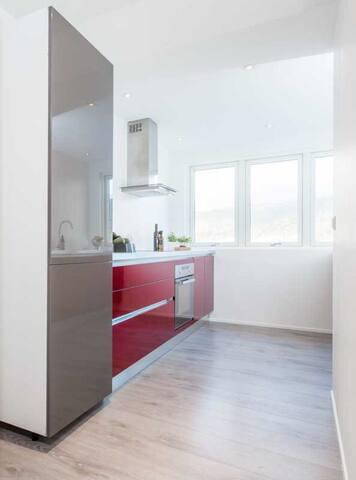 Modern central loft apartement - Bergen - Huoneisto