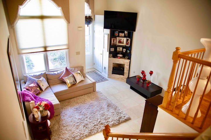 Private bedroom at Port Imperial Condominium