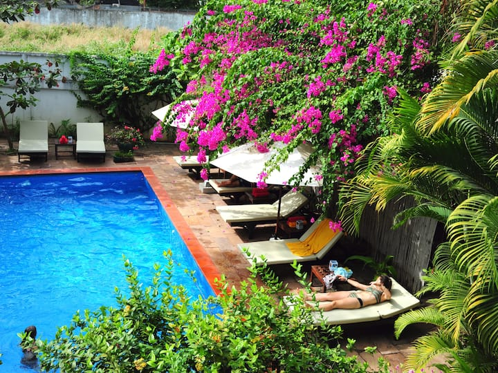Private Deluxe Double with Balcony in Siem Reap