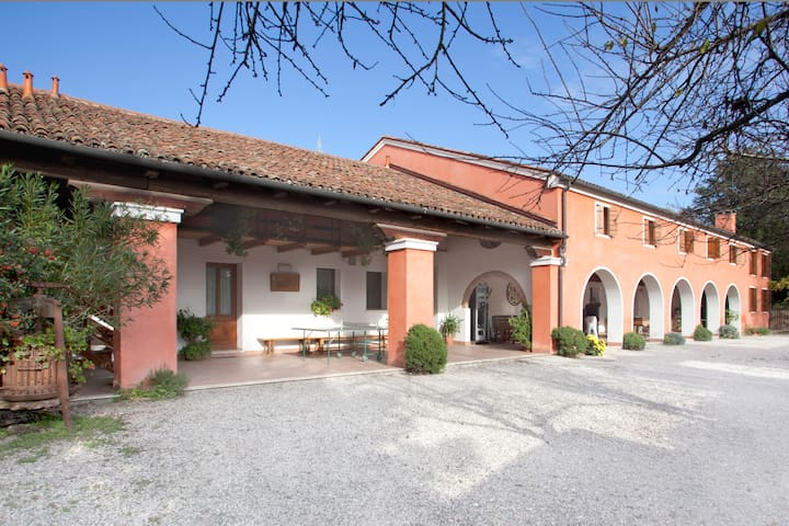 Spacious Apartment near Padova - Limena