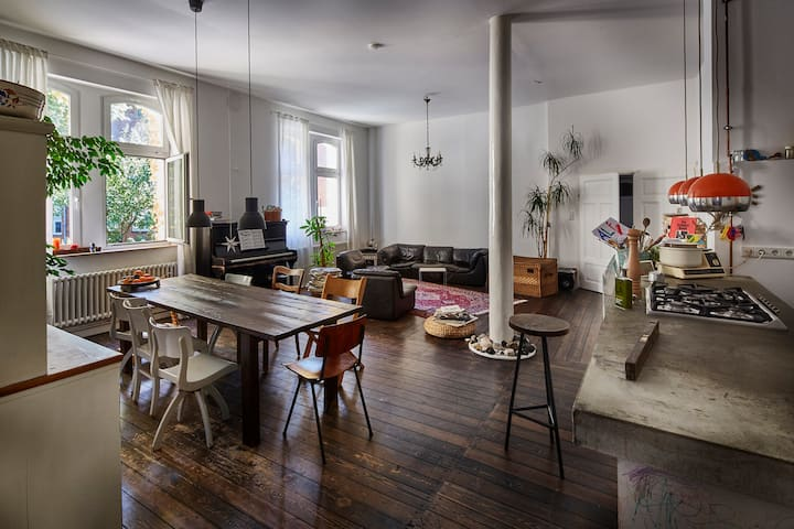 Charming and cozy loft in the heart of st. pauli