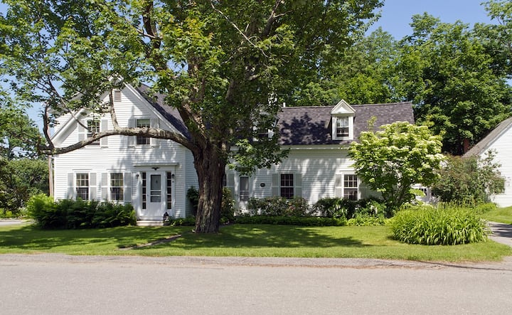Village home with charm! Stroll to town
