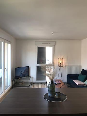 Superbe T2 résidence neuve Lyon 8