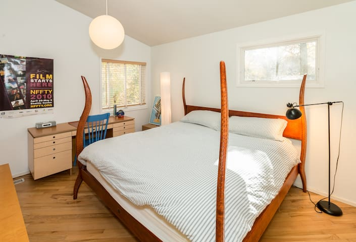 Bedroom in Modern Home Near NYC