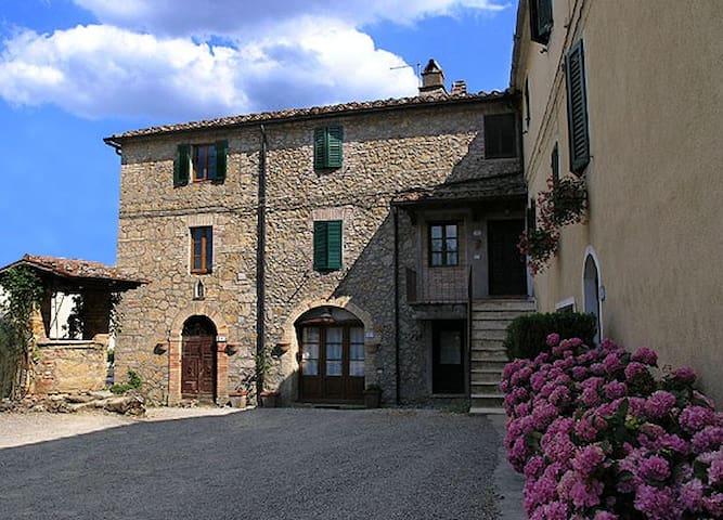 Casa in agriturismo a Chiusdino - Chiusdino - Apartment