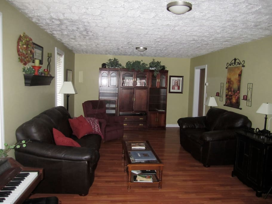 Living Room - couches and lazy boy may be different than shown