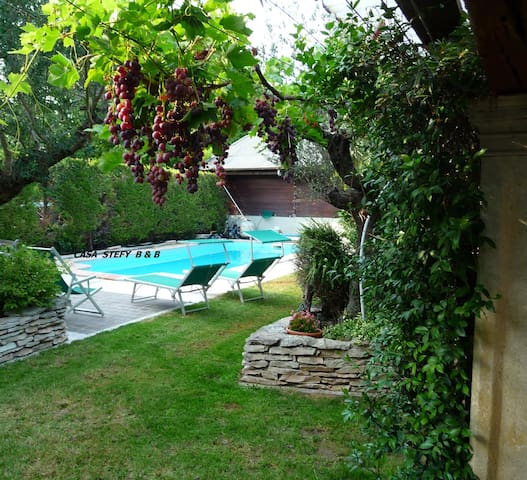 40 MIN FROM VERONA: casa stefy 18 - Montagnana - Bed & Breakfast