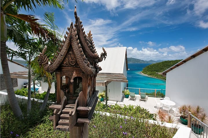 Stunning Secluded Oceanfront Villa - St. John - บ้าน