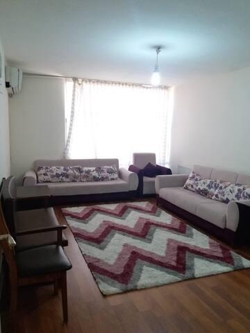 شقة وسط بورصة مفروشة بسعر مغري جدا وخدمة مميزة