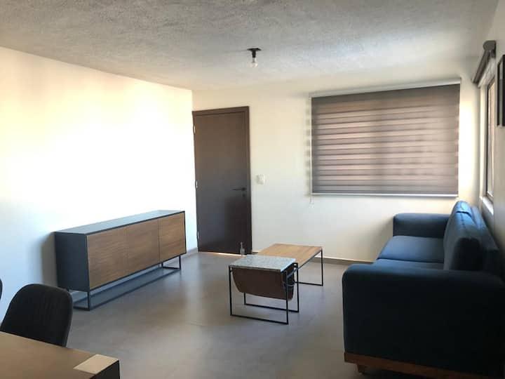Departamento remodelado, zona Santa Tere