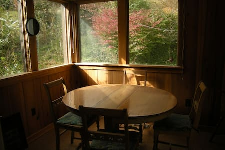 Cozy cabin in the mountains of N.C. - Leicester - Huis