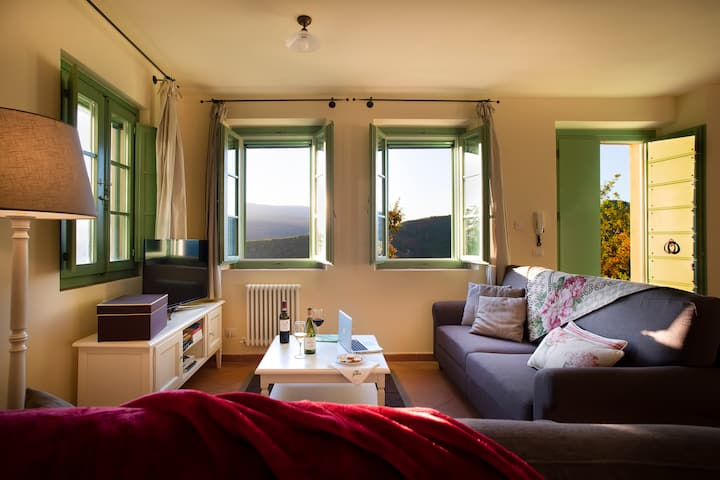 Castello di Gallano - Appartamento per 5 persone