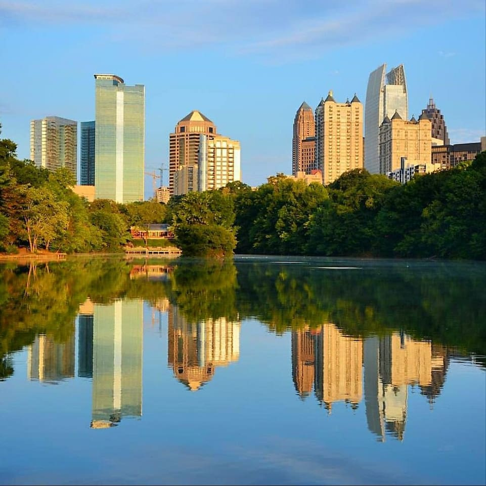 Directly across from the beauty that is Piedmont Park
