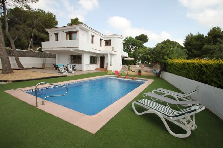 Colibri - modern, well-equipped villa with private pool in Moraira