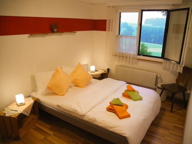 Double-Room with mountain panorama at ambiente
