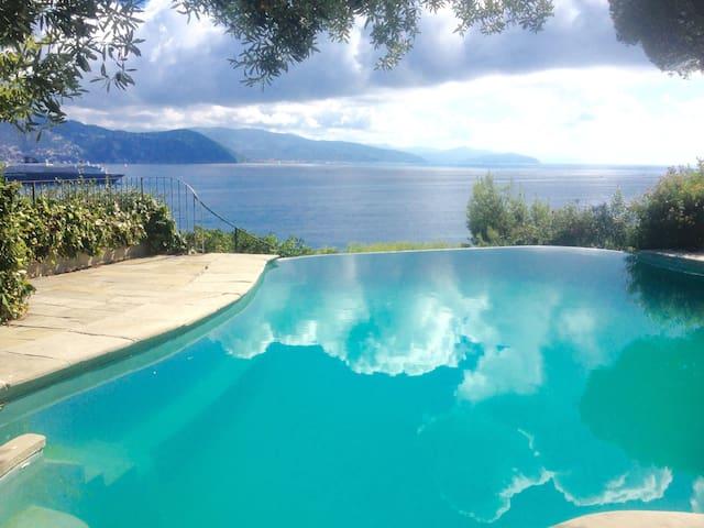 BEAUTIFUL VILLA SEAVIEW, WITH POOL - Santa Margherita Ligure - Villa