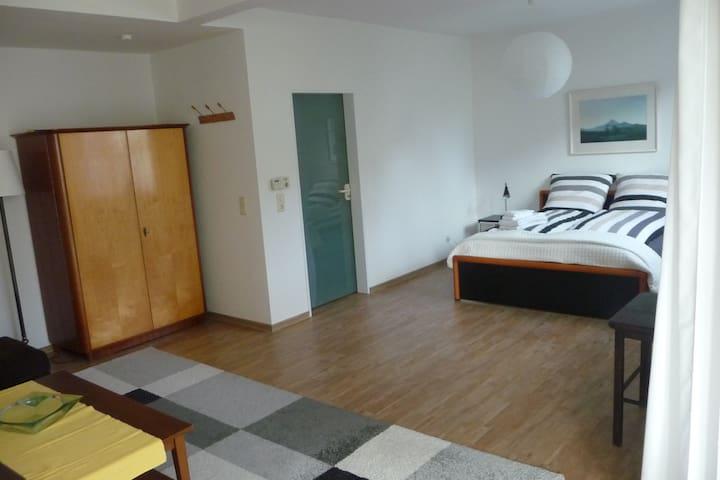 40m2 Zimmer mit Wintergarten