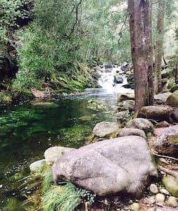 cabañas en el rio - A Pobra do Caramiñal - Přírodní / eko chata