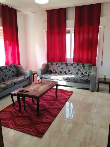 Furnished flat in Amman , Jordan (North Hashmi)