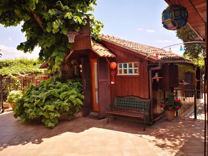 Cottage n°2 privato con accesso al lago e sauna