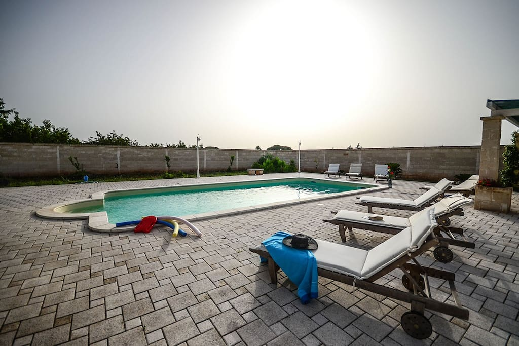Morello Apartment In Typical Masseria With Pool