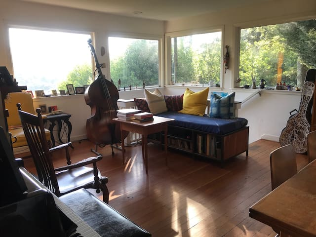 Fairfax hillside artist's cottage