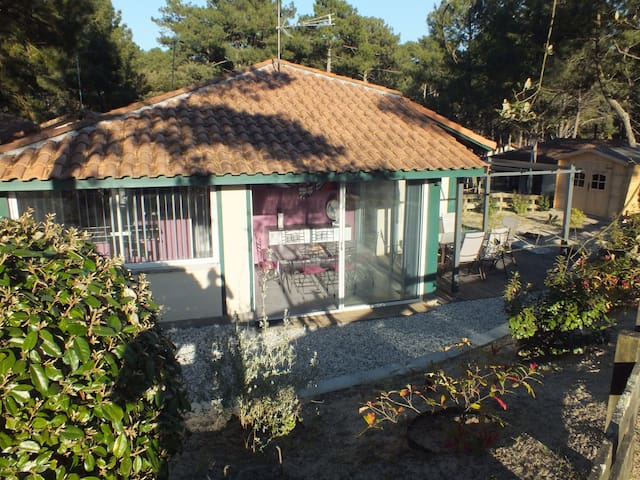 Villa avec jardin, piscine proche golf et océan - Moliets-et-Maa - House