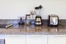 Quality appliances for your comfort. Enjoy flavoured Dominican coffee in the morning.
