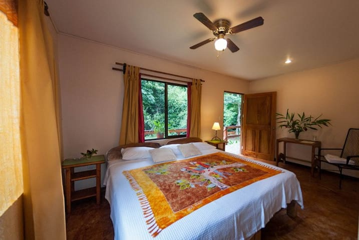 River View Casita room by Lake Arenal