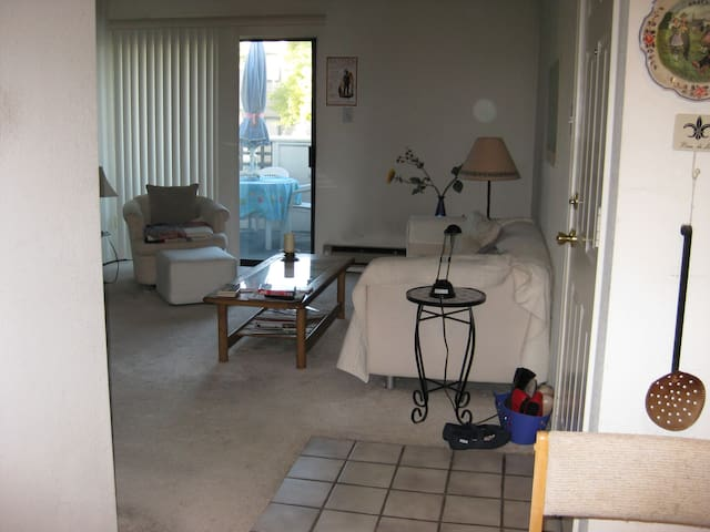 A comfy couch or airbed  - Vallejo - Apartament