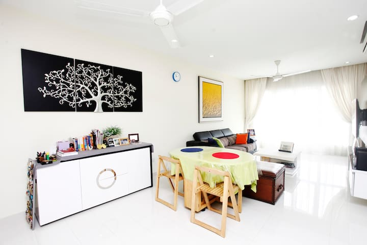 Kuala Lumpur: Live Like Local w Nice Host - Kuala Lumpur - Apartamento