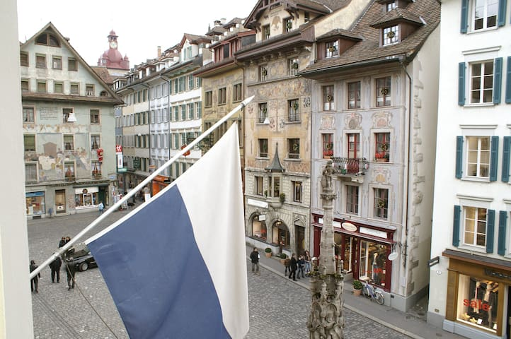 Altstadt Hotel Krone Apartments Weinmarkt Luzern - Lucerne - Apartment
