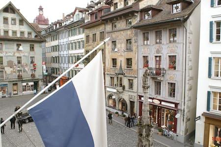 Altstadt Hotel Krone Apartments Weinmarkt Luzern - Lucerna - Apartament