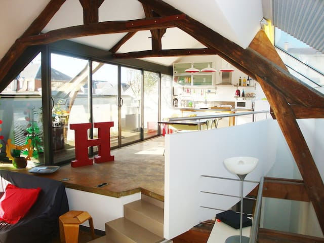 Enjoy a 150m2, 4 bedrooms loft  - Fontainebleau - Loft