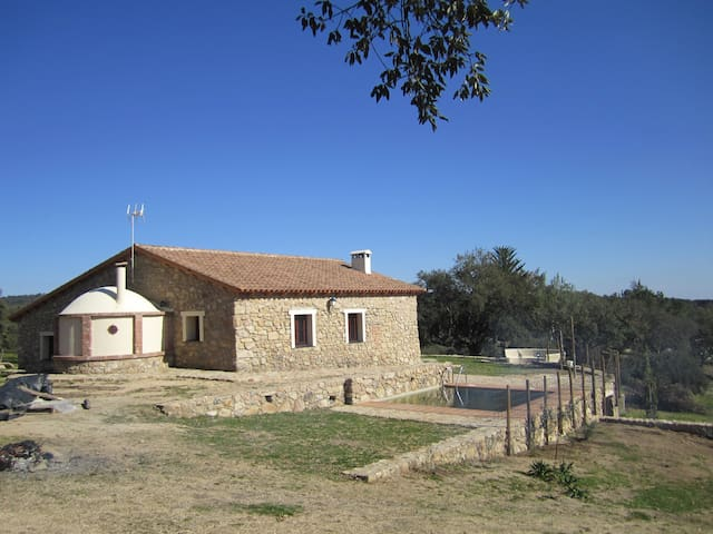 CHARMING COTTAGE NEXT TO PORTUGAL   - San Vicente de Alcántara - Rumah