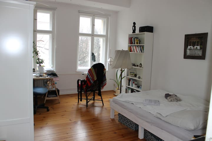 Bright, quiet & nice appartment with veggie love