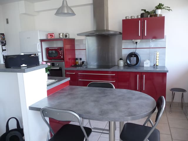 Charming and cosy  very bright flat - Le Pont-de-Beauvoisin - Apartamento