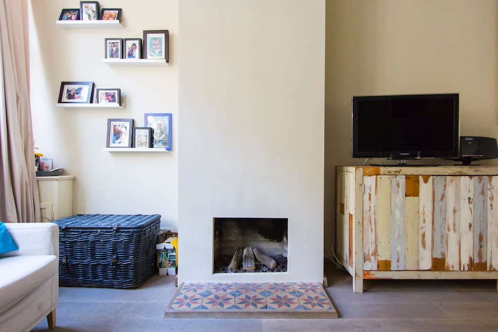 (Gas) Fireplace in the Living room